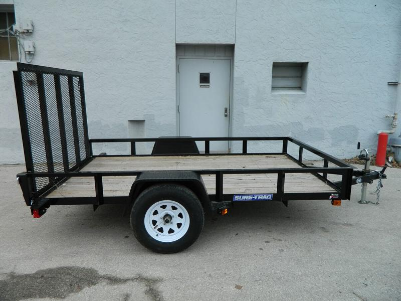 2019 Sure-Trac 6'x10' Angle Iron Utility Trailer