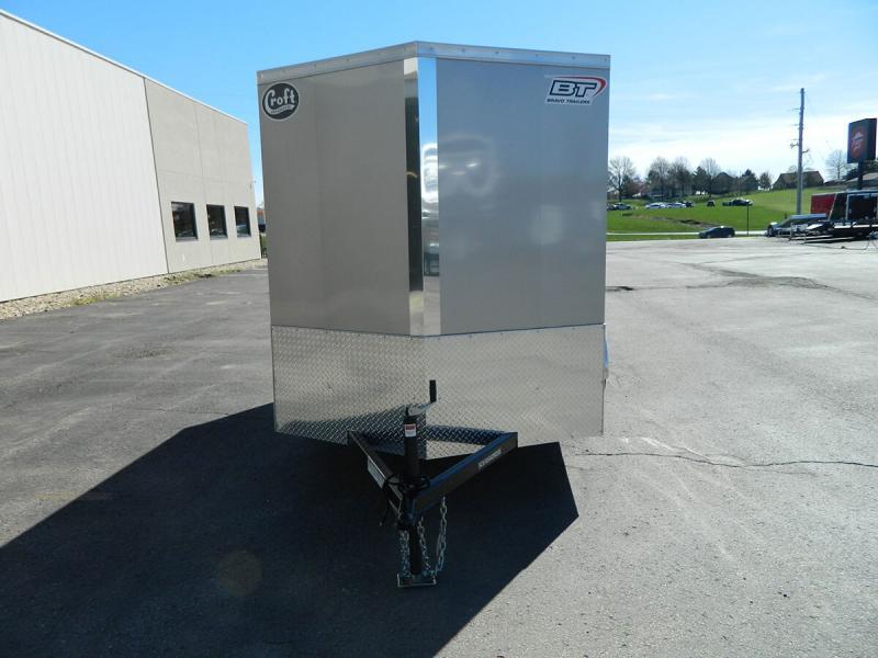2019 Bravo 6'x12' SS Enclosed w/ Ramp Door