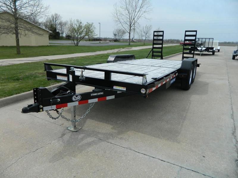 "2018 Sure-Trac 81""x20' Implement Trailer - 14k"