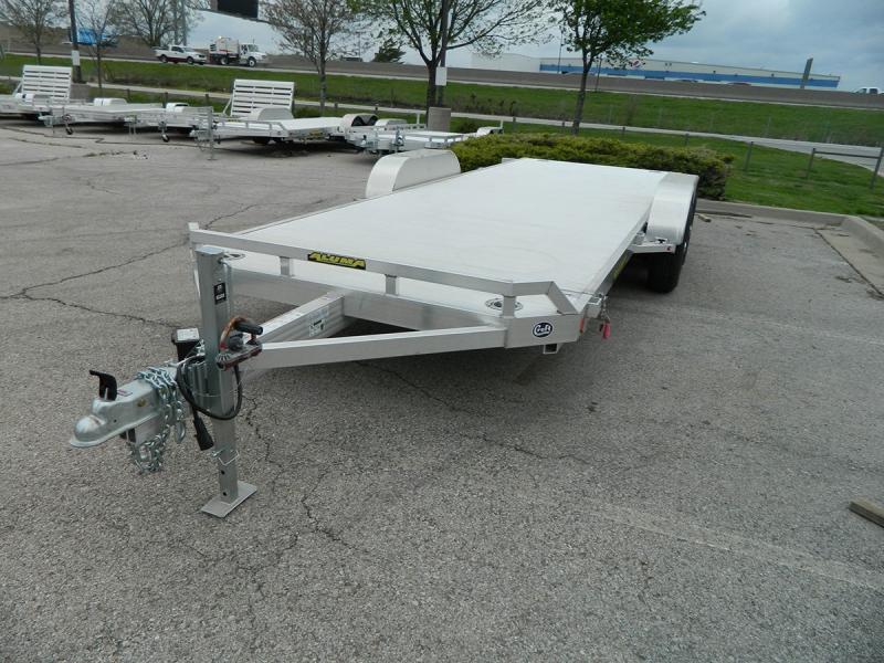 "2019 Aluma 82""x20' Tilt Bed Car Hauler - 10k"