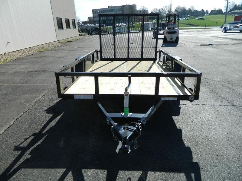 2018 Sure-Trac 6'x10' Tube Top Utility Trailer