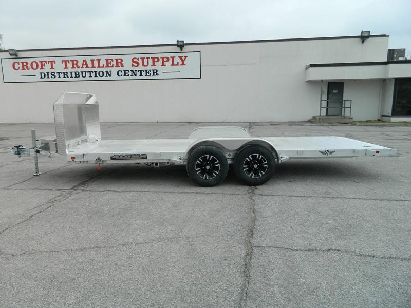 "2020 Aluma 25th Anniversary 82""x18' Tilt Bed Car Hauler"