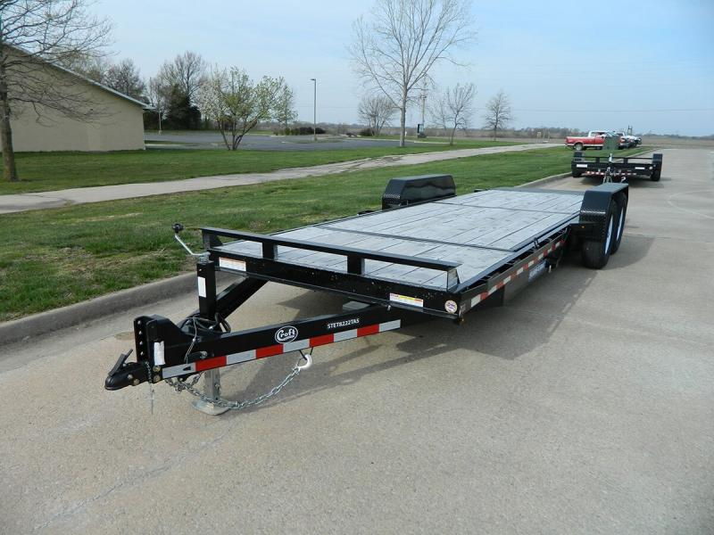 "2018 Sure-Trac 82""x22' Equipment Tilt Trailer - 14k"