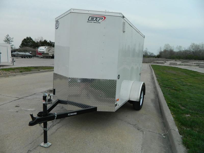 2019 Bravo 5'x8' Enclosed w/ Ramp Door