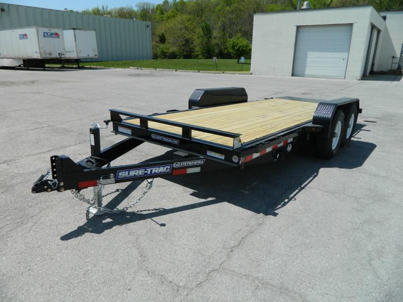 "2019 Sure-Trac 82""x18' Equipment Tilt Trailer - 14k"