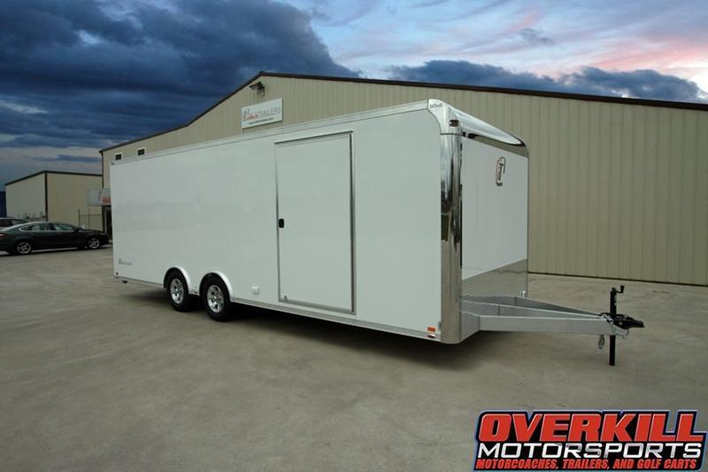 2018 inTech Trailers 28 Lite Series Base All Aluminum Tag Trailer