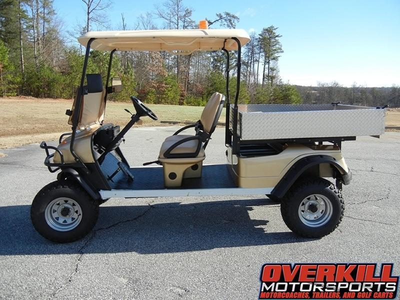 2018 StarEV 48V 2HCX Lifted Sport Electric Utility Golf Cart w/ Dump Box 2-Pass