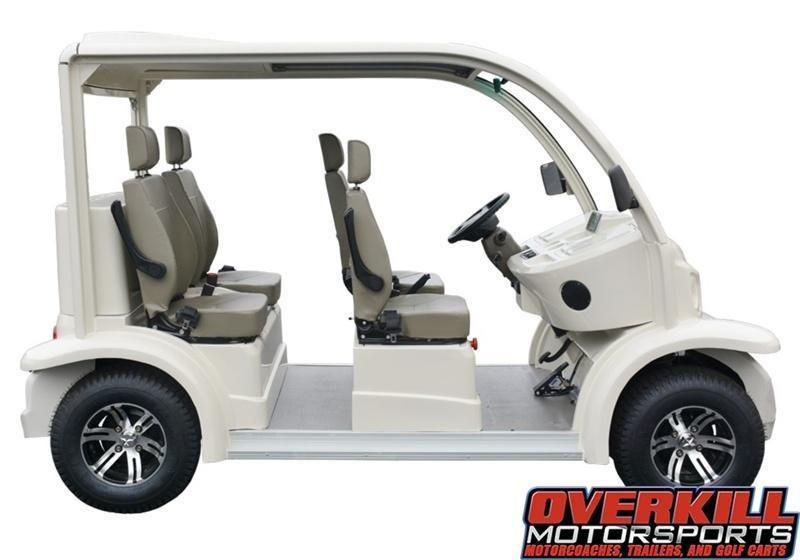 2018 STARev AP48-04 AC Electric Bubble People Mover Golf Cart 4-Passenger