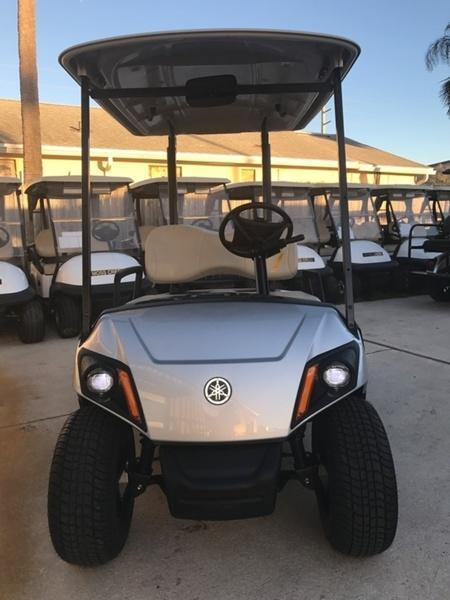 2019 Yamaha Drive2 PTV Quietech Gas Golf Cart EFI 2-Passenger