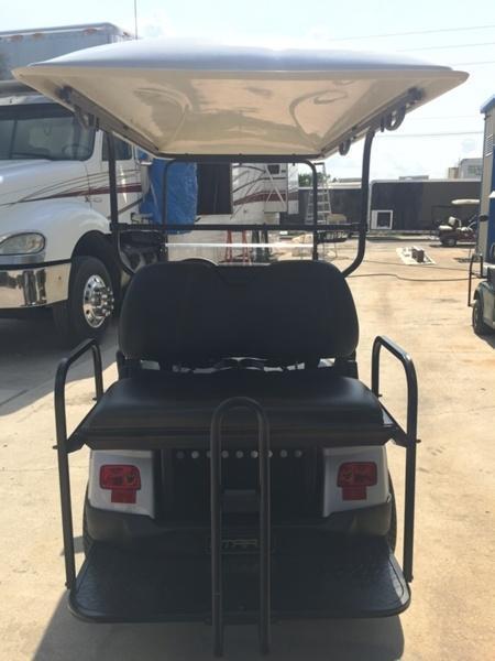 2018 StarEV Classic 48V Electric Golf Cart Street Legal 4-Pass - Silver