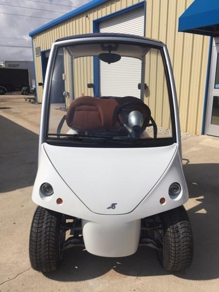 2018 Garia Electric Golf Car 4-Pass - White