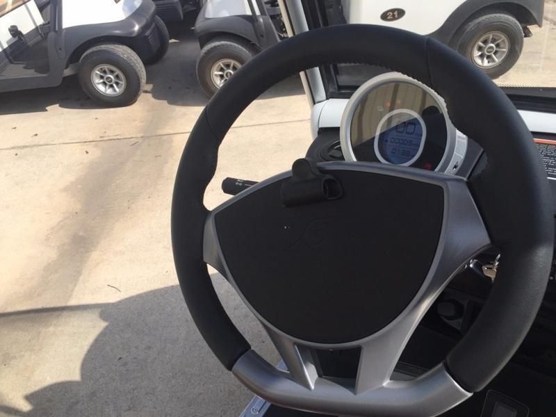 2019 Garia Electric Golf Car 4-Pass - White
