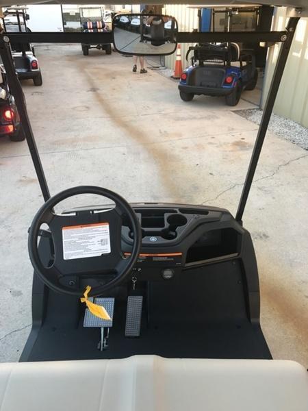 2019 Yamaha Drive2 PTV Quietech Gas Golf Cart EFI 2-Passenger