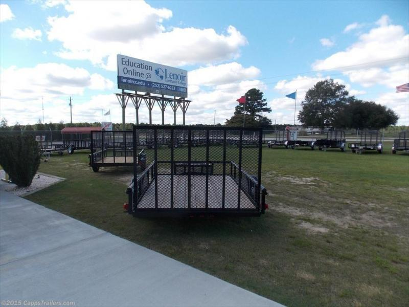 2019 Carry-On 6X10GWPTLED Utility Trailer