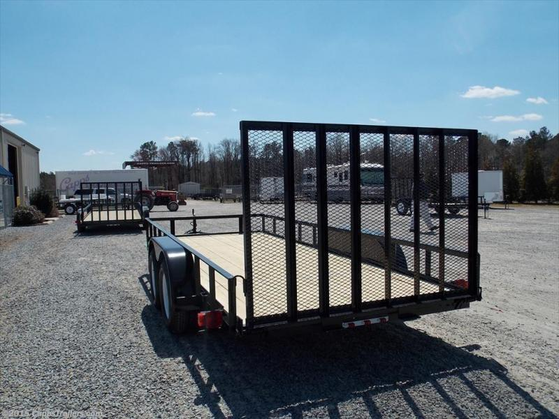2019 Carry-On CO 6X16GW1BRK Utility Trailer