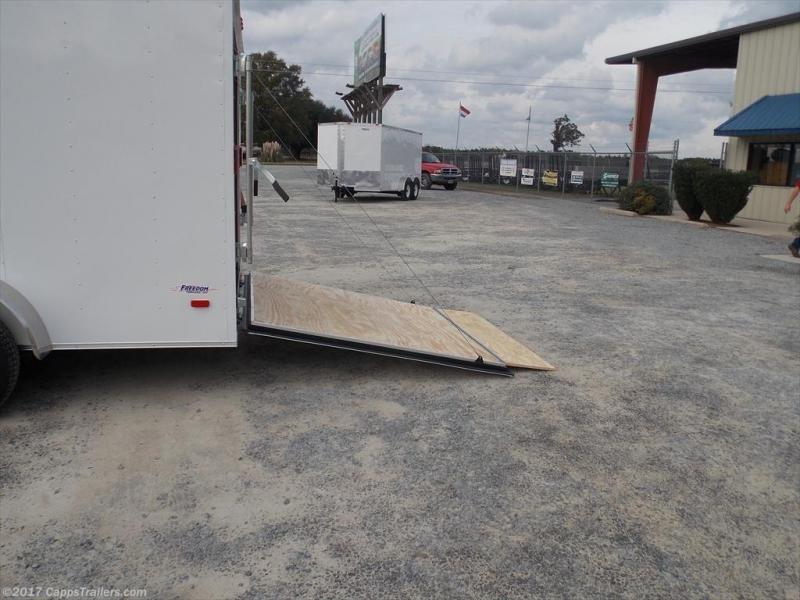 2020 Freedom Trailers FD 7X16TA2-VN+12 Enclosed Cargo Trailer