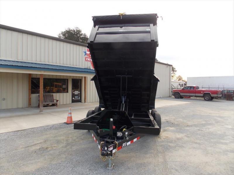 2020 PJ Trailers DHA1472BSSK3PT 14K Dump Trailer