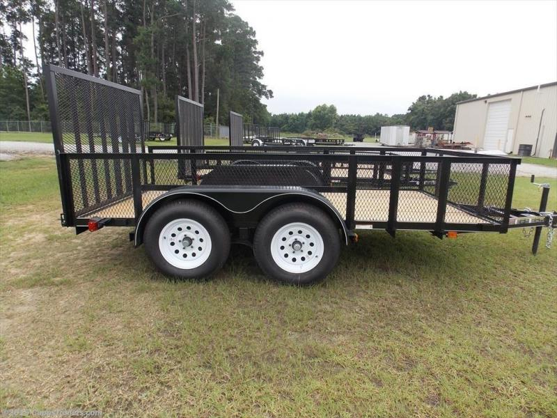 2019 Carry-On CO 6X12GWHS1BRK Utility Trailer