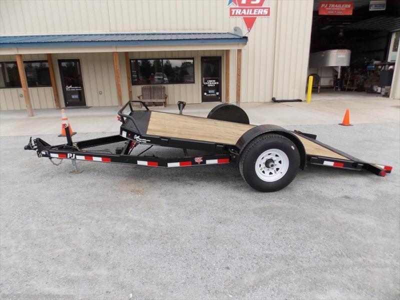 2018 PJ Trailers T1J1371BDTKT Vehicle Tilt Deck