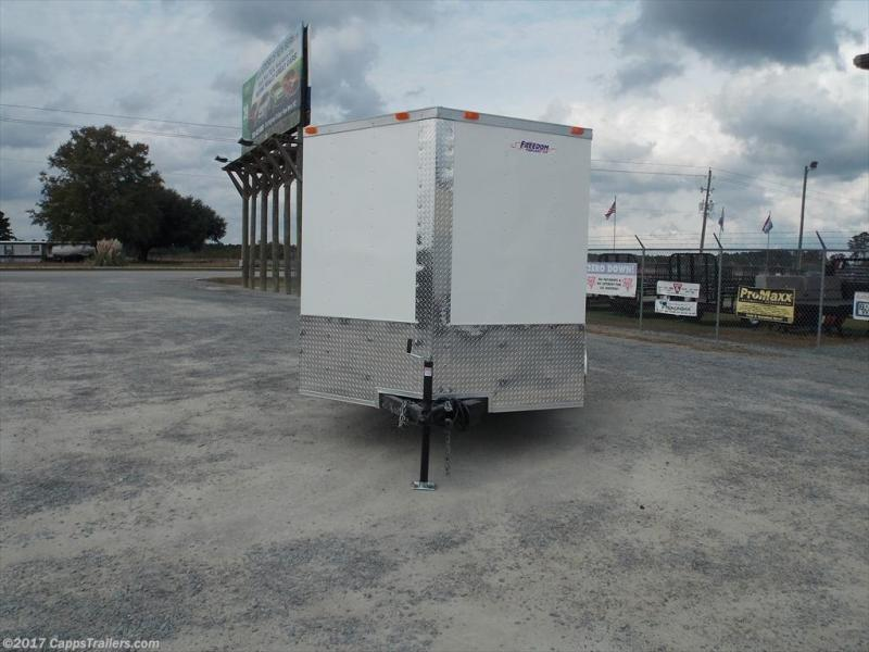 2018 Freedom Trailers FD 7X14TA2-VN+3 Enclosed Cargo Trailer