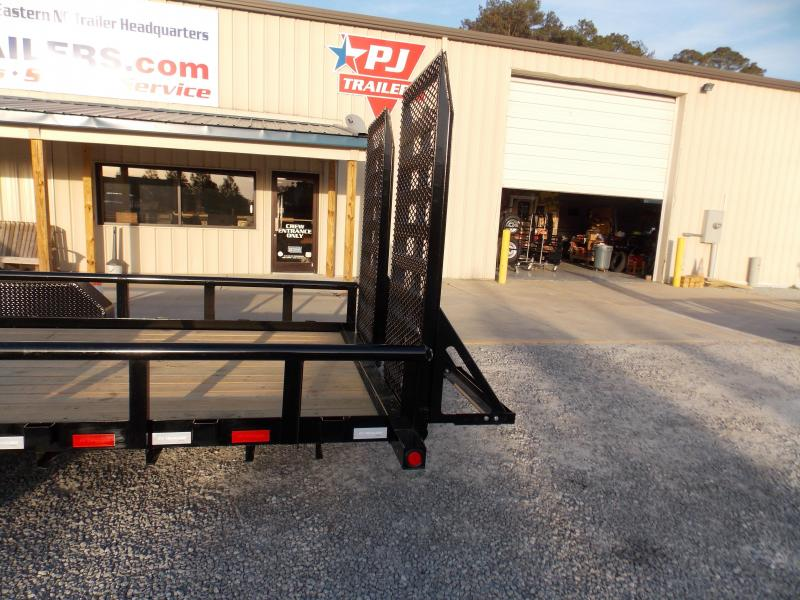 2020 PJ Trailers PJ P8R2472BSTK Equipment Trailer