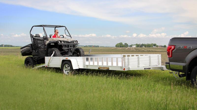 2020 Aluma AL 8114SR ATV Trailer