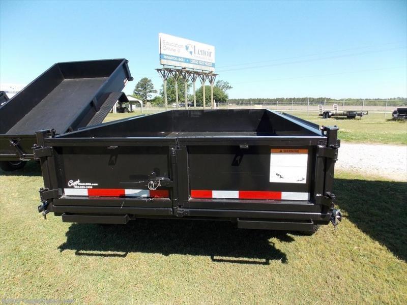2019 Carry-On 6x12DUMPLP10K - Ramps Dump Trailer