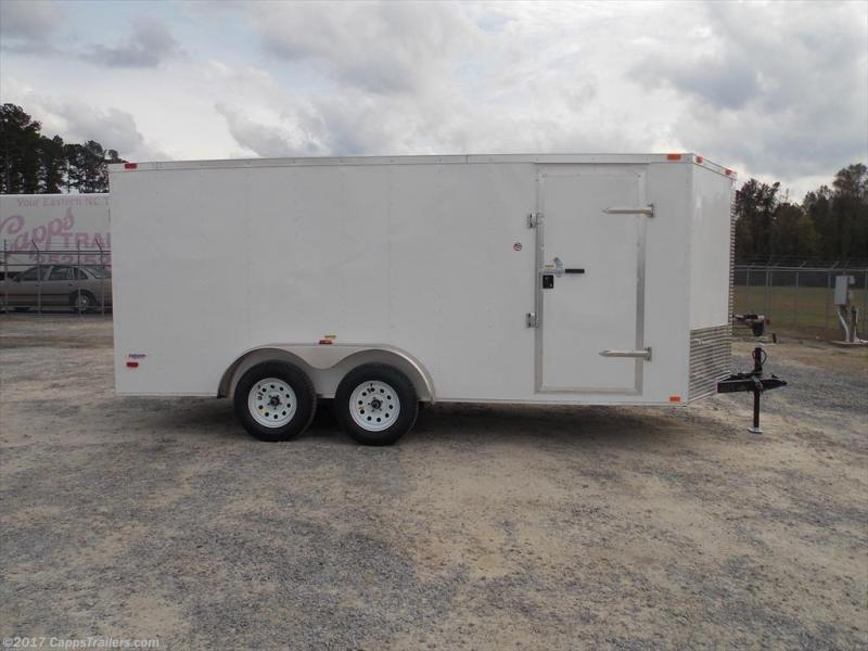 2019 Freedom Trailers FD 7X16TA2-VN+12 Enclosed Cargo Trailer