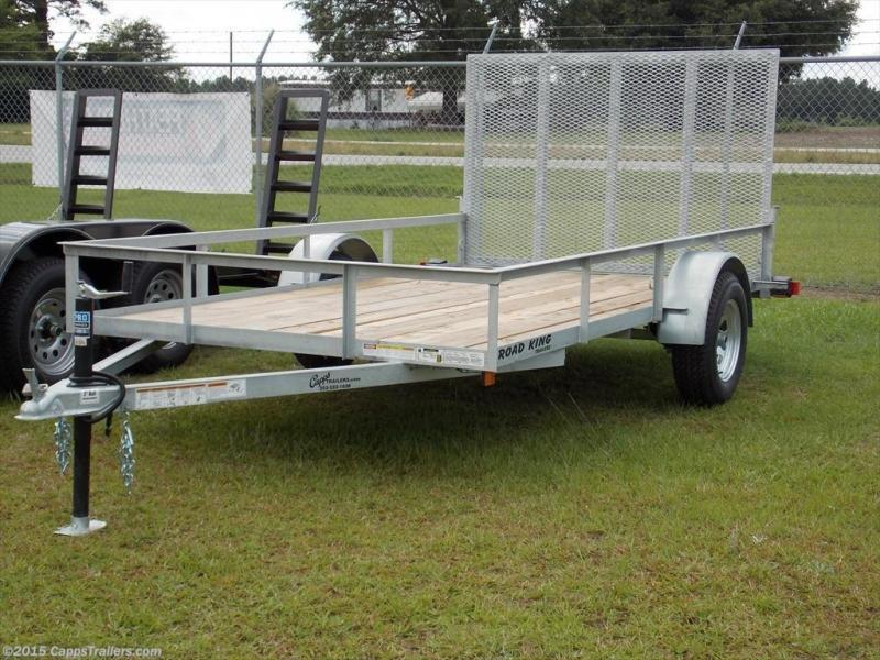 2018 Road King RK 6x12GUT Utility Trailer