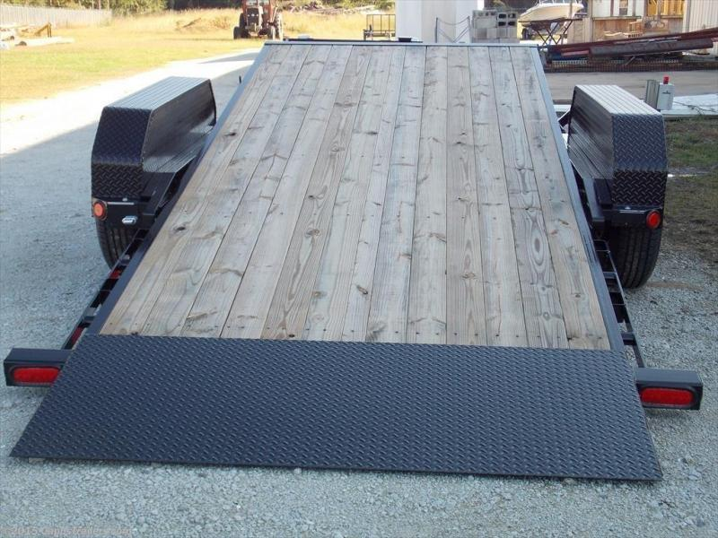 2019 PJ Trailers T6J2072BTTKT Vehicle Tilt Deck