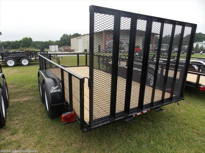 2019 Carry-On CO 6x16GWHS1BRK Utility Trailer