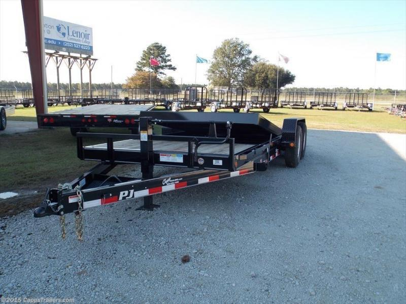 2019 PJ Trailers T6J2072BTTKT Vehicle Tilt Deck