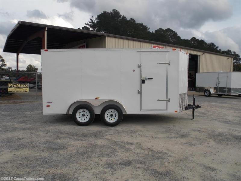 2019 Freedom Trailers FD 7X14TA2-VN+3 Enclosed Cargo Trailer
