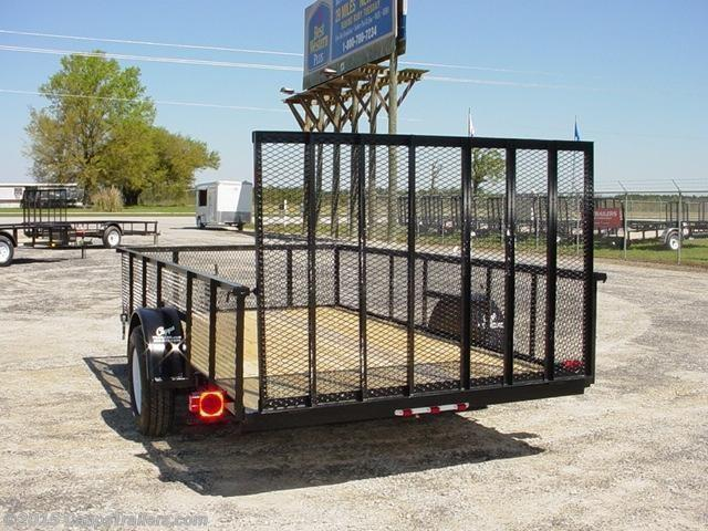 2019 Carry-On CO 6X10GWHS Utility Trailer