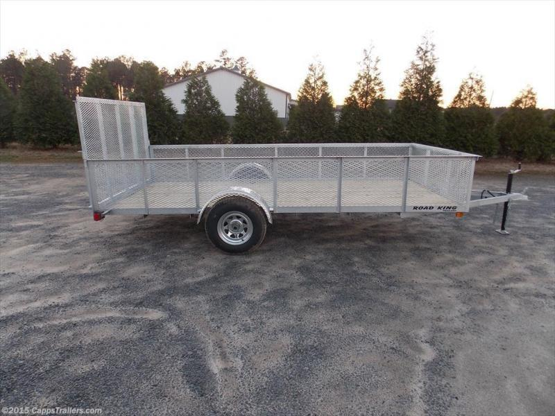 2018 Road King RK 6x12GUT2M Utility Trailer