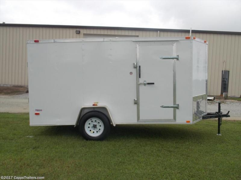 2019 Freedom Trailers FD 6X12SA-VN Enclosed Cargo Trailer