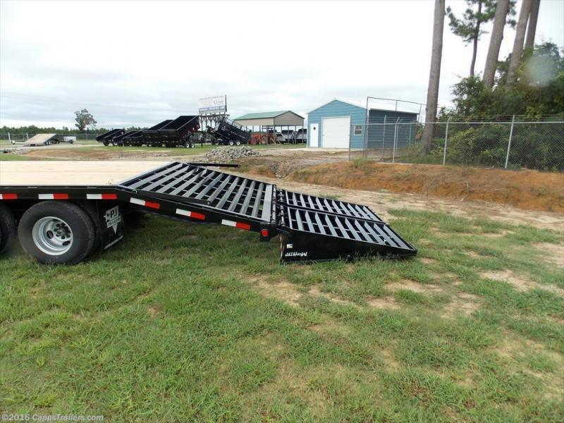 2018 PJ Trailers PDP25A2BSWK Flatbed Trailer