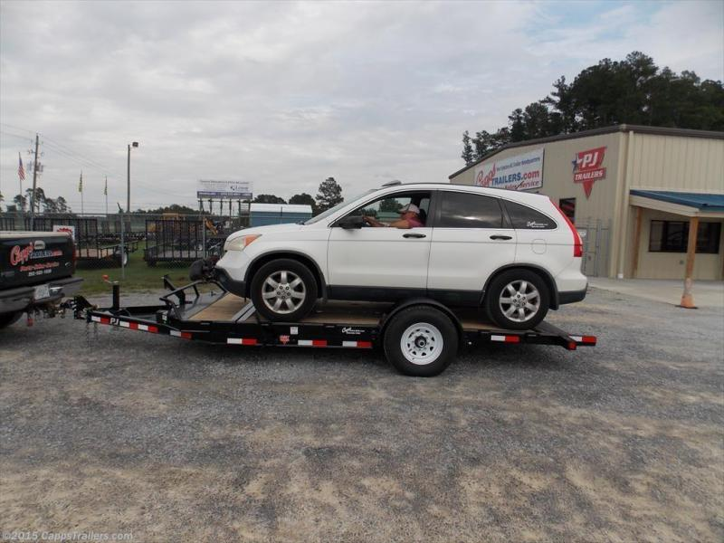2018 PJ Trailers T1J1671BDTKT Vehicle Tilt Deck