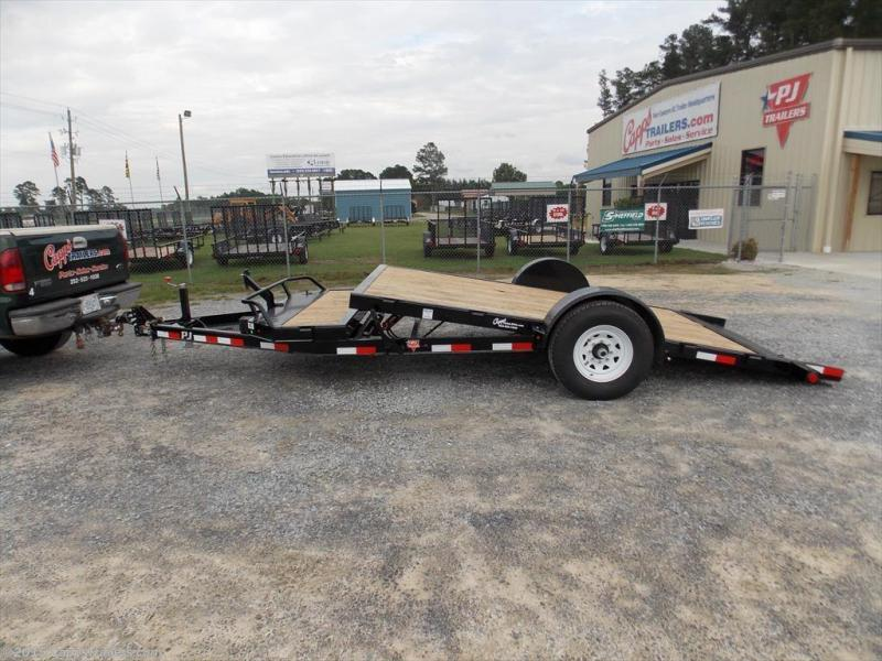 2018 PJ Trailers T1J1671BDTKT Vehicle Tilt Deck