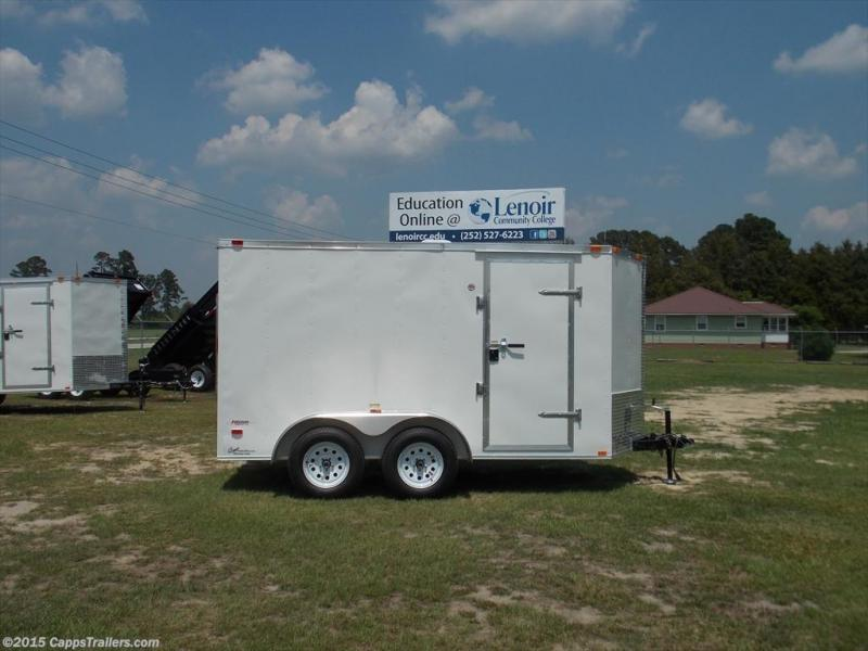 2019 Freedom Trailers FD 6X12TA2-VN+3 Enclosed Cargo Trailer