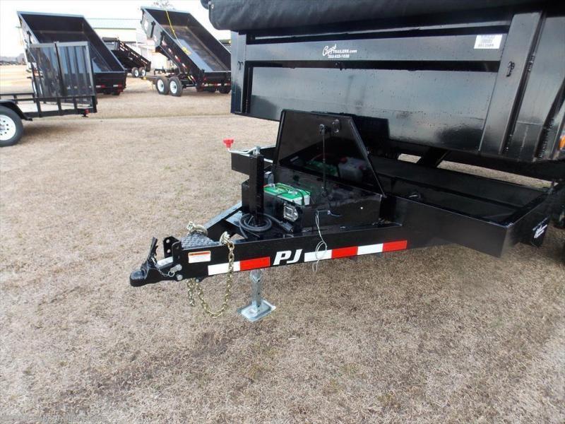 2020 PJ Trailers PJ DLA1272BSSKPT Dump Trailer