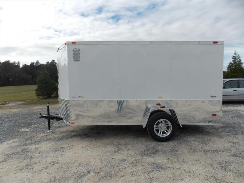 2020 Freedom Trailers FD 6X12SA-VNRD MCPKG Enclosed Cargo Trailer