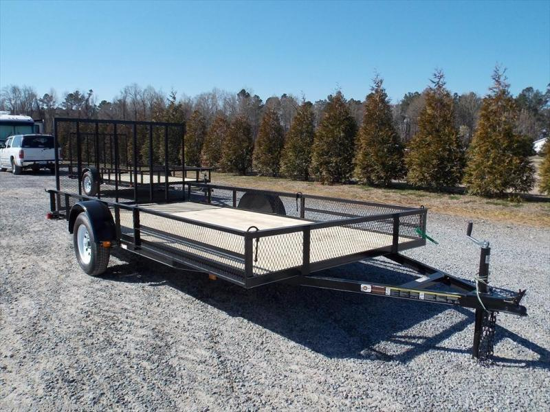 2019 Carry-On CO 7X14GWRS Utility Trailer