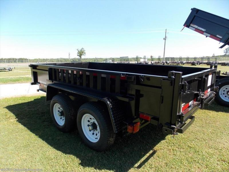 2019 Carry-On CO 6x12 - 10K LP - Ramps Dump Trailer