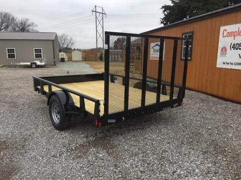 2018 RICE RSP7612 Utility Trailer