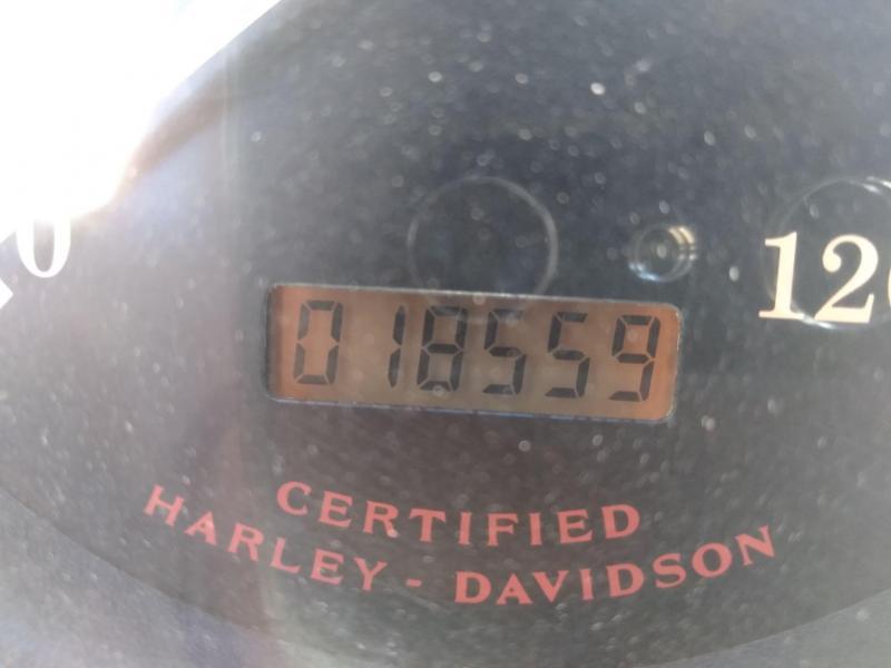 2003 Harley Davidson Softail Anniversary Edition Motorcycle