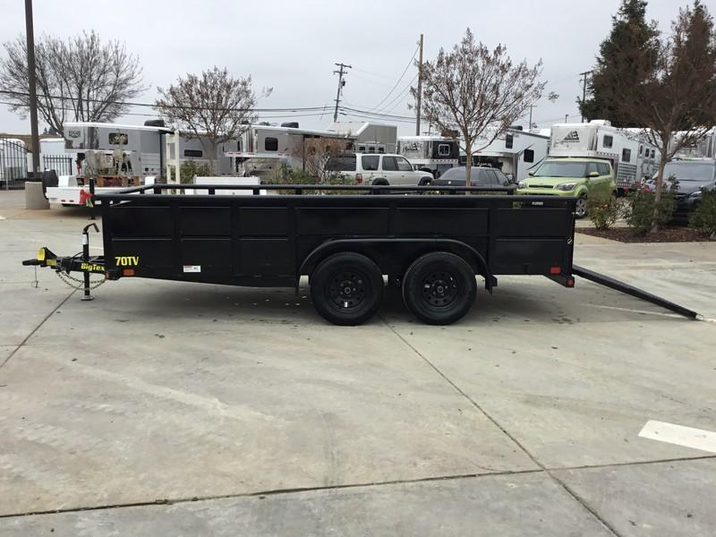 New 2020 Big Tex 70TV-14 7x14 7K GVW Utility Trailer