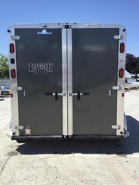 New 2019 Logan Coach Rampage 2H BP Horse Trailer