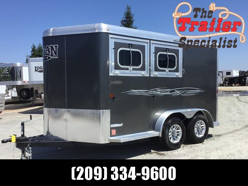 New 2019 Logan Coach Rampage 2H BP Horse Trailer