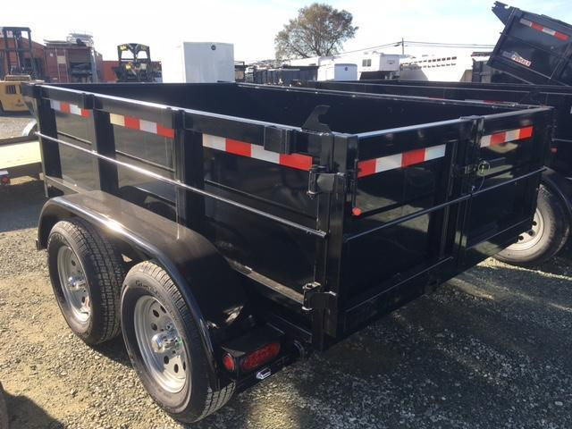 New 2020 Five Star DT064 5x8 7K GVW Dump Trailer